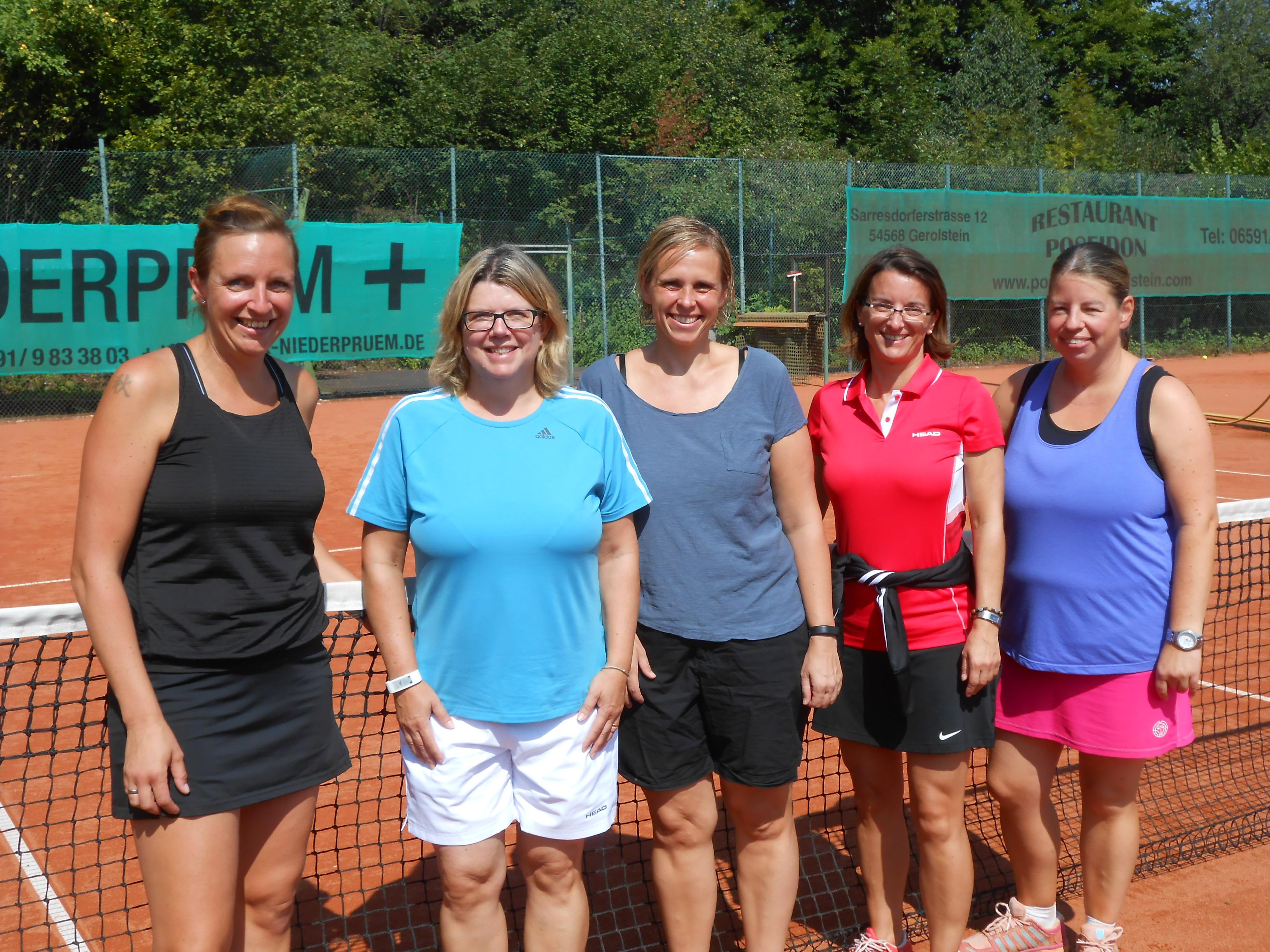 Finalteilnehmerinnen Damen40